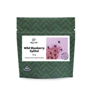 Wild Blueberry Xylitol - An all natural Nordic sweetener (2x60g / 2x2.1oz) – METTÄ NORDIC