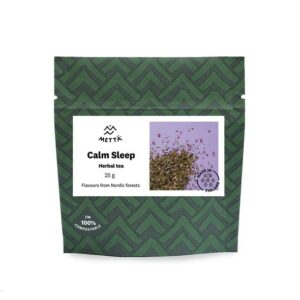 Calm Sleep Herbal Tea - Carefully selected blend of Finnish herbs for a calming and relaxing effect (2x25g / 2x0.9oz) – METTÄ NORDIC