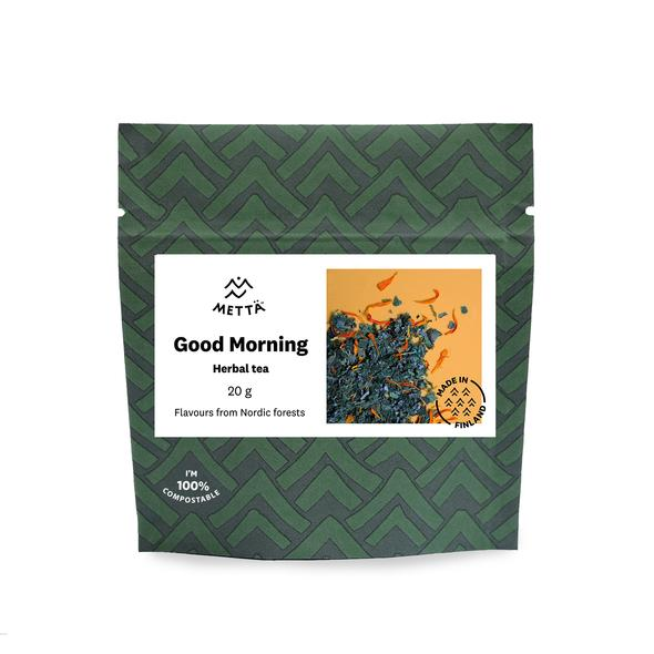Good Morning Herbal Tea - Carefully selected blend of Finnish herbs for a refreshing